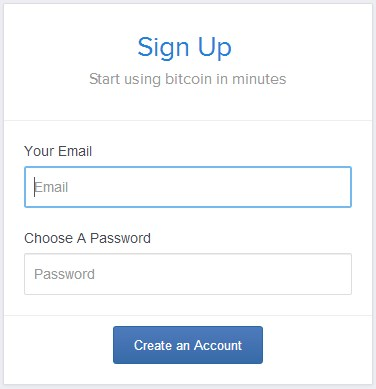 coinbase sign up